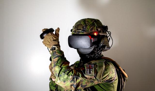 virtual reality military training